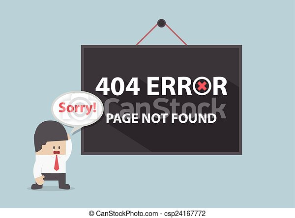 404 error, Page not found - csp24167772