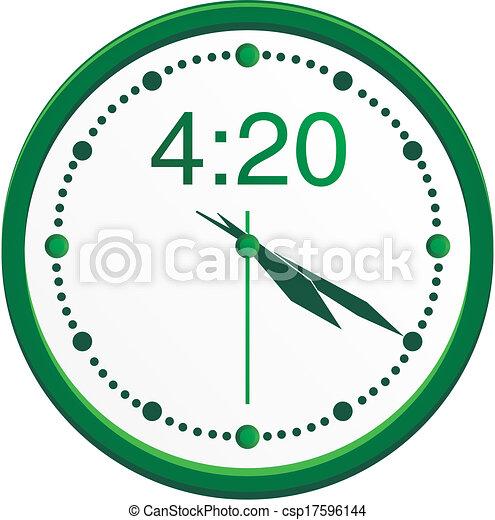 420 clock - csp17596144