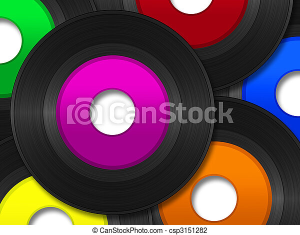 45 RPM Records - csp3151282
