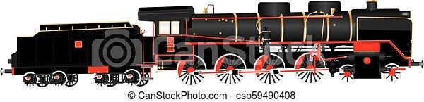 480Locomotive - csp59490408
