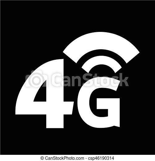 4g wireless wifi icon rh canstockphoto com wifi icon vector free download no wifi icon vector
