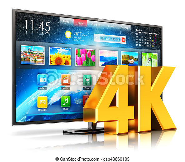 4K UltraHD smart TV - csp43660103