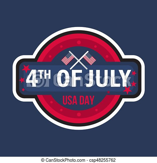 4th july day 4th july usa independence day celebration banner 4th july day csp48255762 m4hsunfo