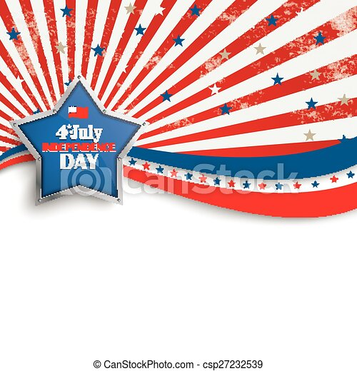 4th july stars stripes flyer silver star independence day rh canstockphoto com stars and stripes clipart clip art stars and stripes clipart border