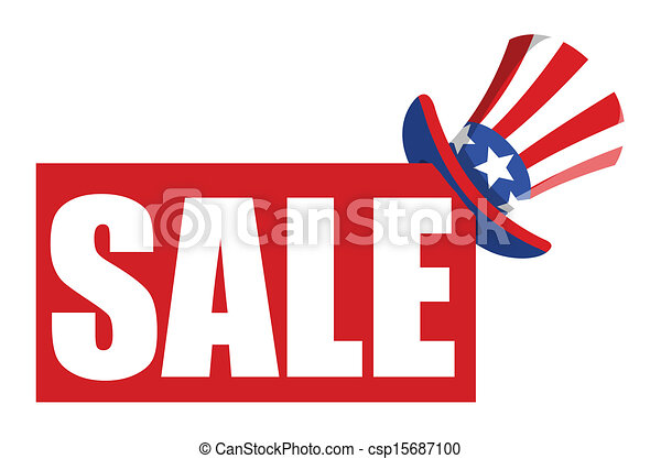 4th of july anniversary sale banner vector illustration vector rh canstockphoto com sale victoria secret sale victoria secret