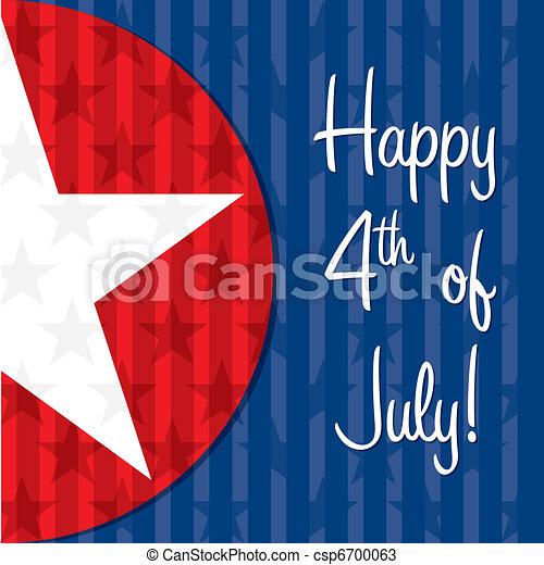 4th Of July Card   Csp6700063