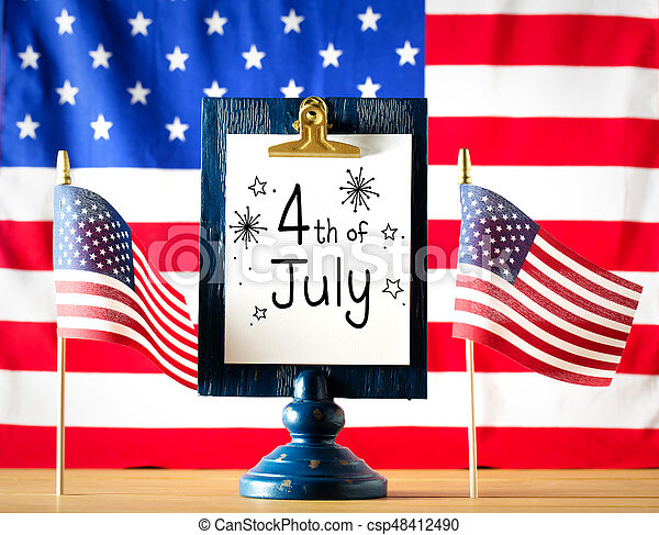 4th of July decorations - csp48412490