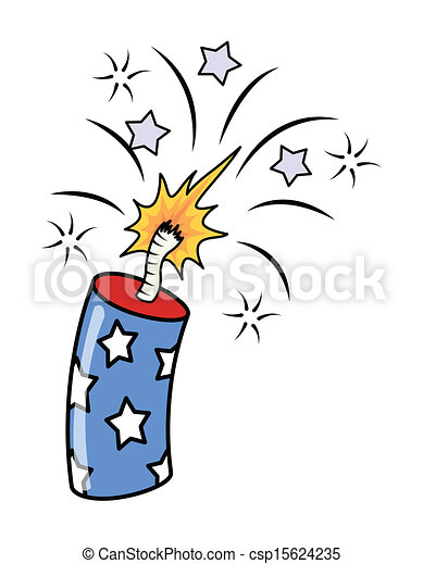 4th of july fireworks exploding drawing art of 4th of vectors rh canstockphoto com happy 4th of july fireworks clipart