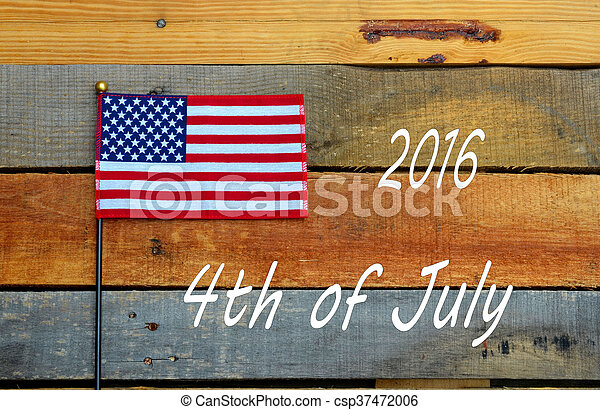 4th of July Holiday Flag - csp37472006