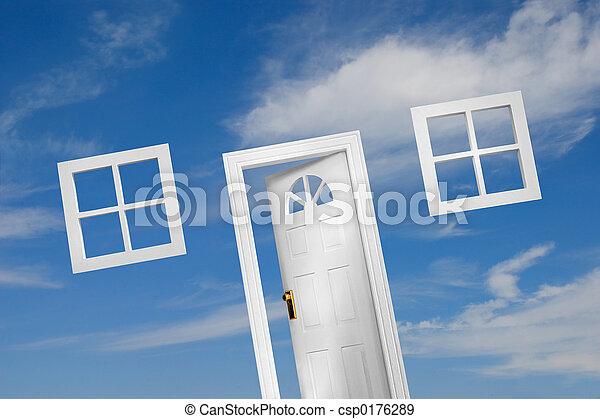 5), 門, (4 - csp0176289