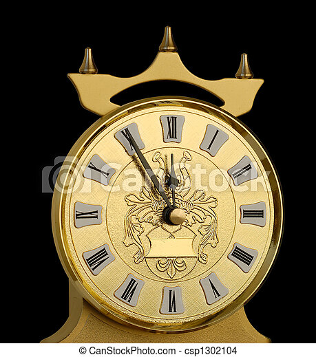 5 Minutes to New Year  - csp1302104