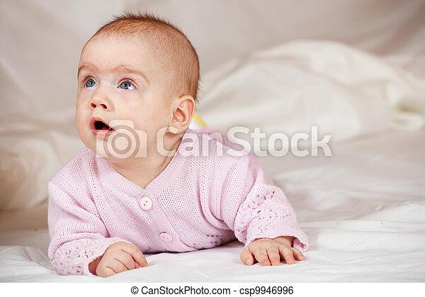 5 months baby - csp9946996