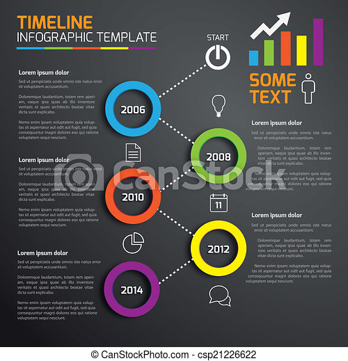 5-Step process infographics - csp21226622