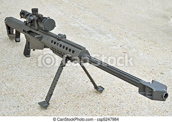 the usmc m107 50 caliber sniper rifle