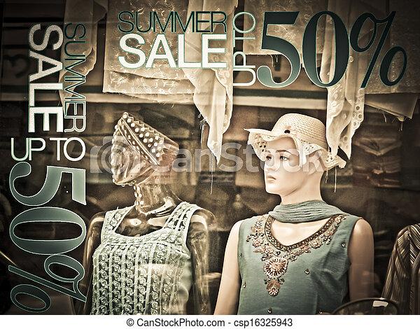 ff5b584167 The mannequins & traditional cloths, punjabi dresses arranged on ...