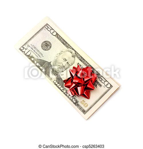 50 Dollar - csp5263403