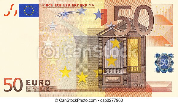 50 Euro - csp0277960