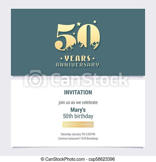 50 Años Por Invitación Al Aniversario 50 Años Por