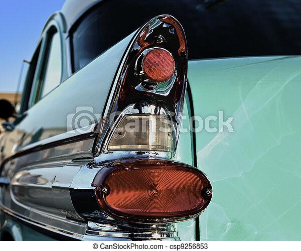 50s car fin - csp9256853