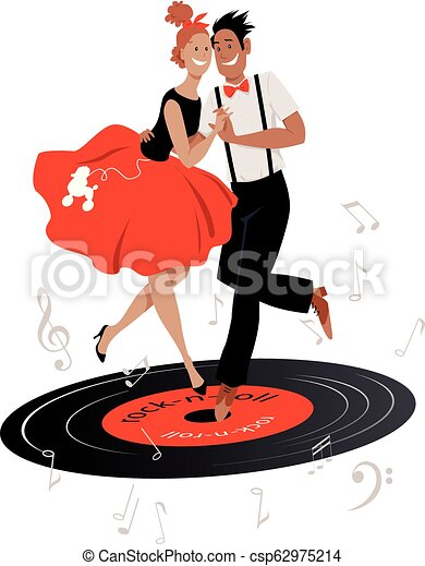 Free Dance Rock And Roll Clip Art - Frame - Dancing Transparent PNG