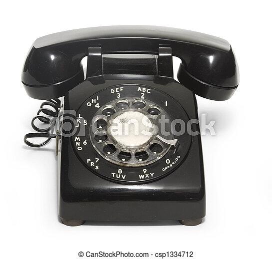 50's Telephone - csp1334712