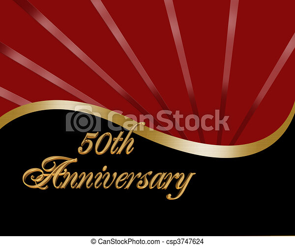 Th Wedding Anniversary Illustrations And Clip Art Th - Best of free clip art 50th anniversary design