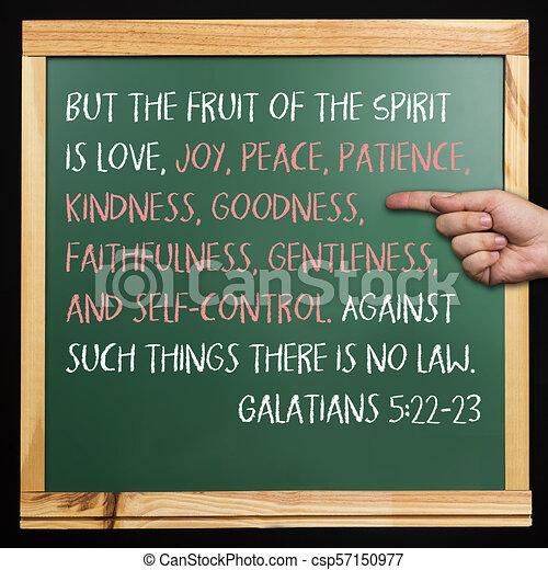 522 23 Galatians Wiersz Biblia Pokój Law Radość Nie