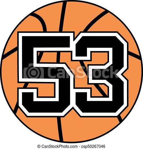 53 >> Creative Design Of 53 Basket Symbol