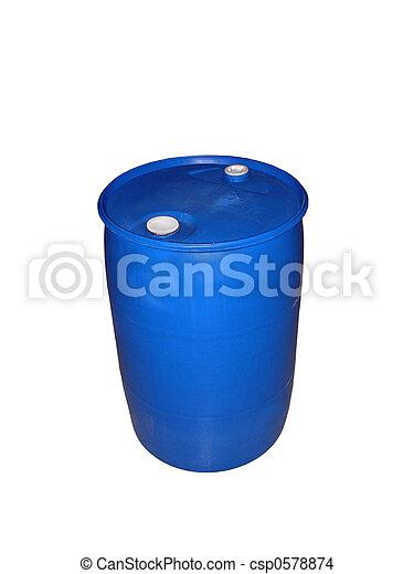 55 Gallon Drum - csp0578874