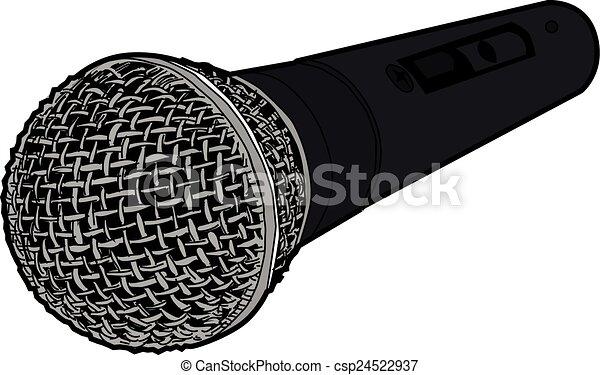 58 Microphone - csp24522937