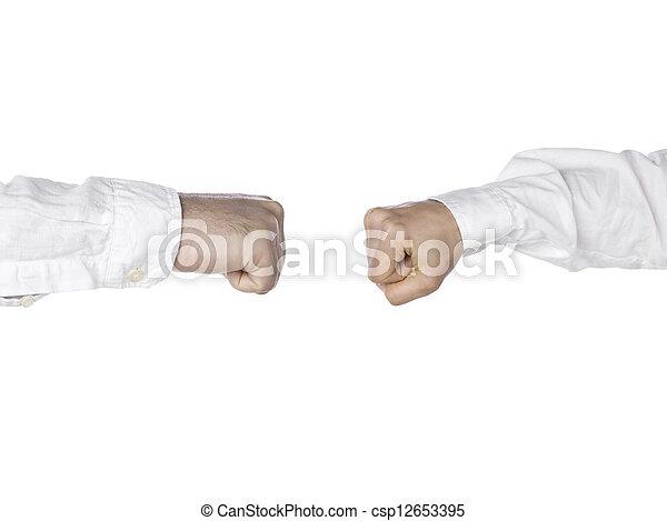 581 fist bump - csp12653395