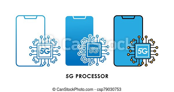 5g processor icon logo vector illustration 5g cpu engine vector template design 5g internet network technology vector can stock photo