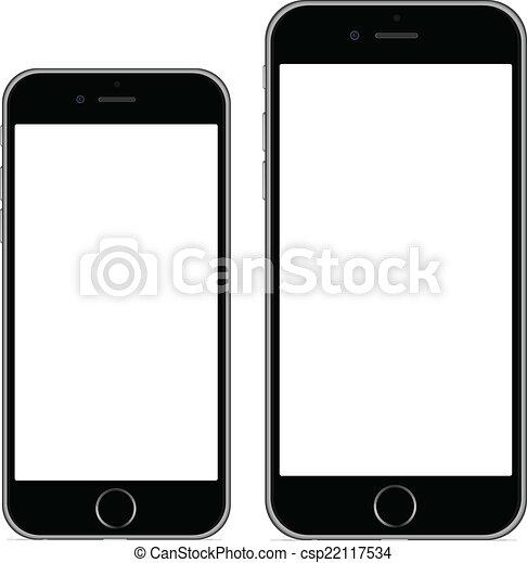 6, plus, iphone - csp22117534