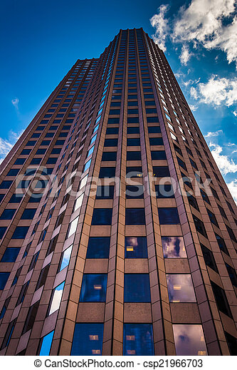 60 State Street, in Boston, Massachusetts. - csp21966703