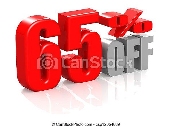 65 percent off - csp12054689