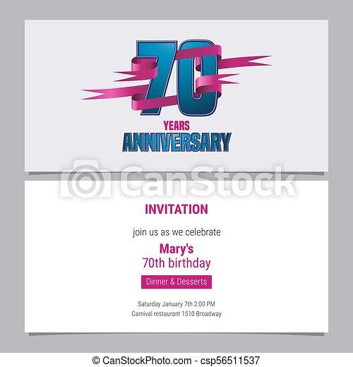 Una Invitación De 70 Años Para Celebrar La Ilustración Del