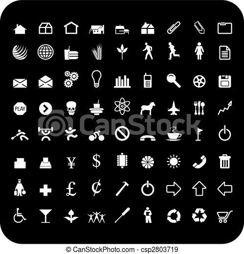 72 icons - csp2803719