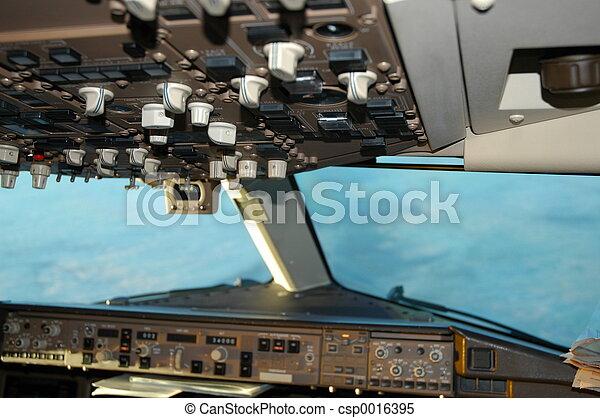 767 overhead panel - csp0016395