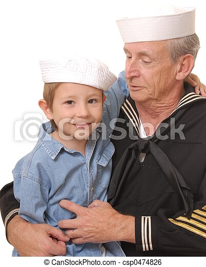 8, 船員, 息子 - csp0474826