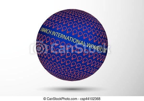 8 March International Women's Day - csp44102368