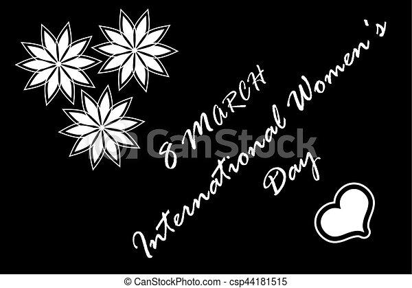 8 March International Women's Day - csp44181515