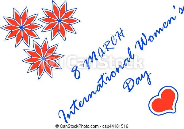 8 March International Women's Day - csp44181516