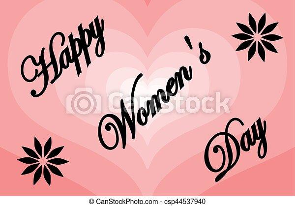 8 March - Women's Day - csp44537940