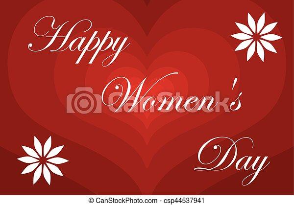 8 March - Women's Day - csp44537941