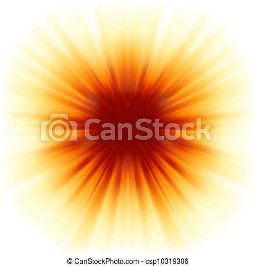 8, raios, sunburst, eps, sunlight. - csp10319306