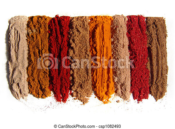 8 spices - csp1082493