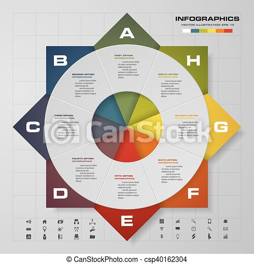 Steps Timeline Infographic Vector Design Template Steps - Timeline design template
