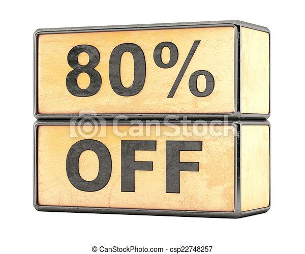 80 percent sale discount - csp22748257