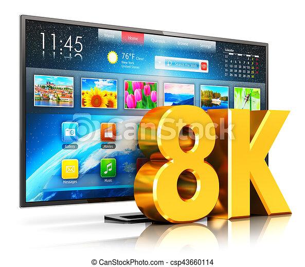 8K UltraHD smart TV - csp43660114