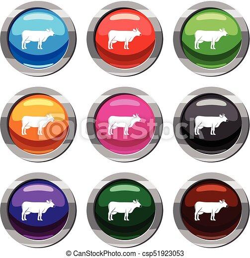 Coleccion de vacas - csp51923053